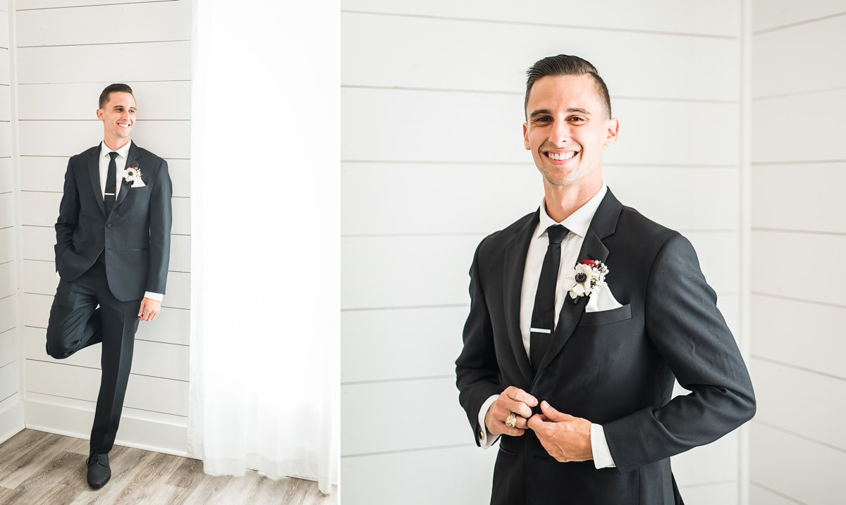 The Farmhouse Wedding Groom