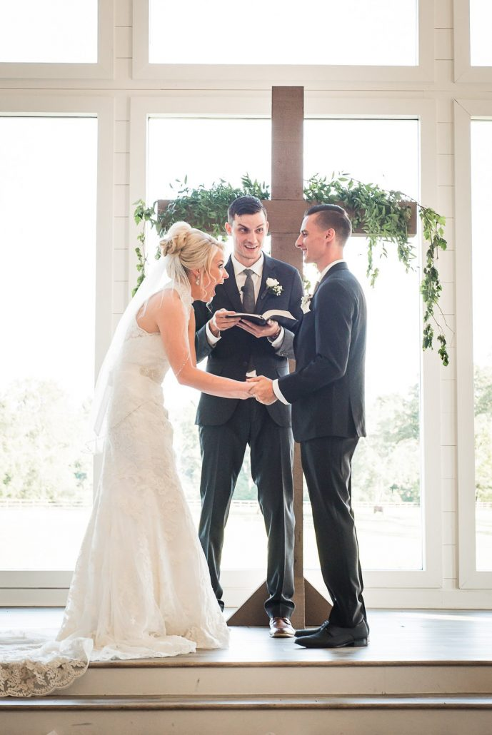 The Farmhouse Wedding Ceremony