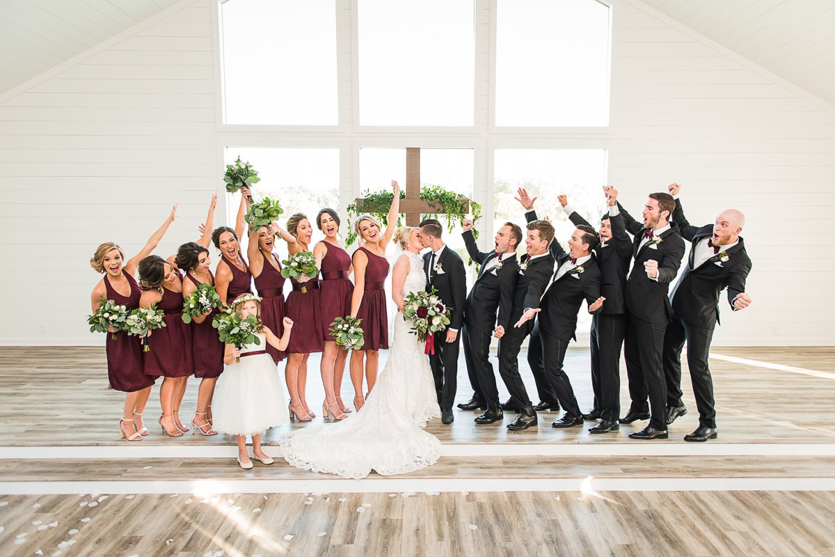 The Farmhouse Wedding Party