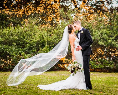 The Houstonian Hotel Wedding Bride and Groom