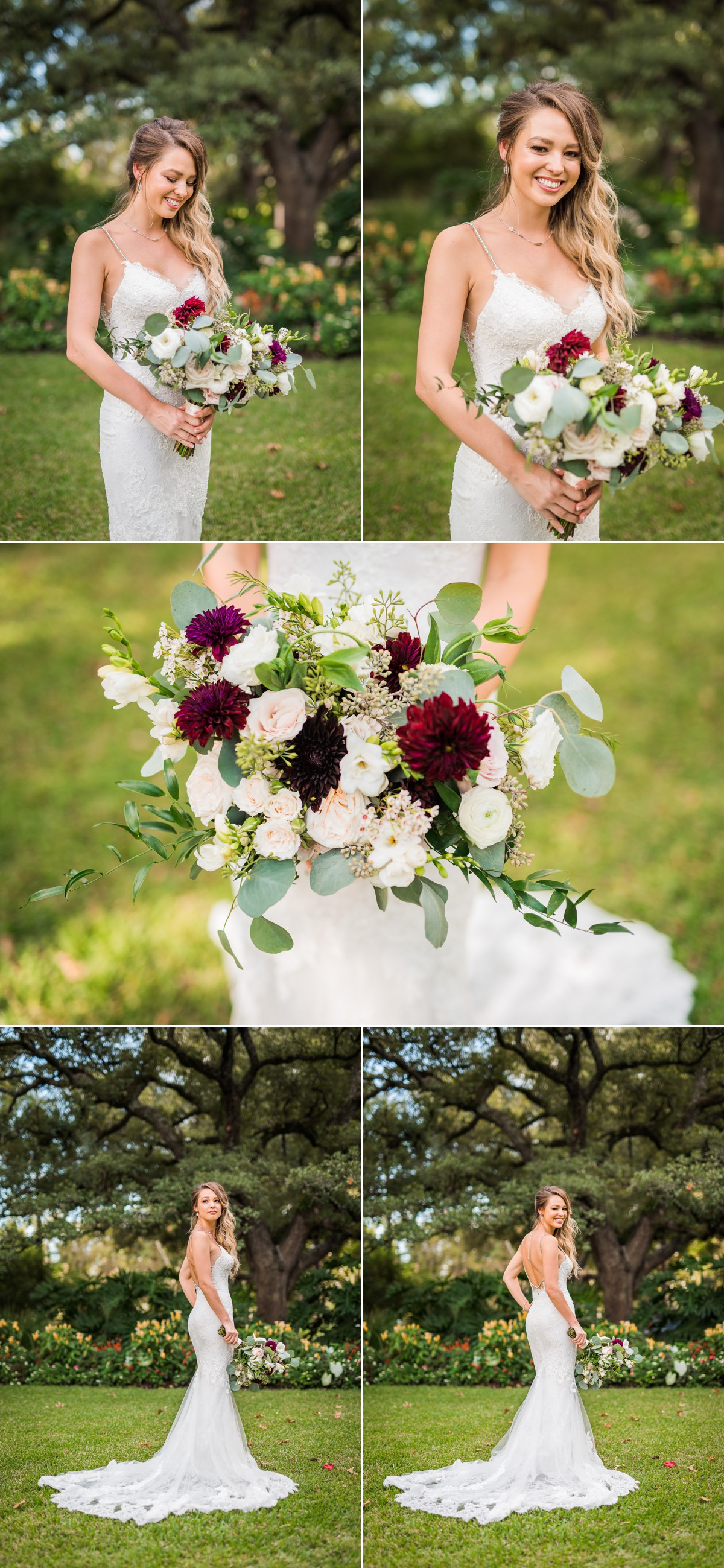 Manor House Wedding at The Houstonian Hotel Bridal Portraits Flowers