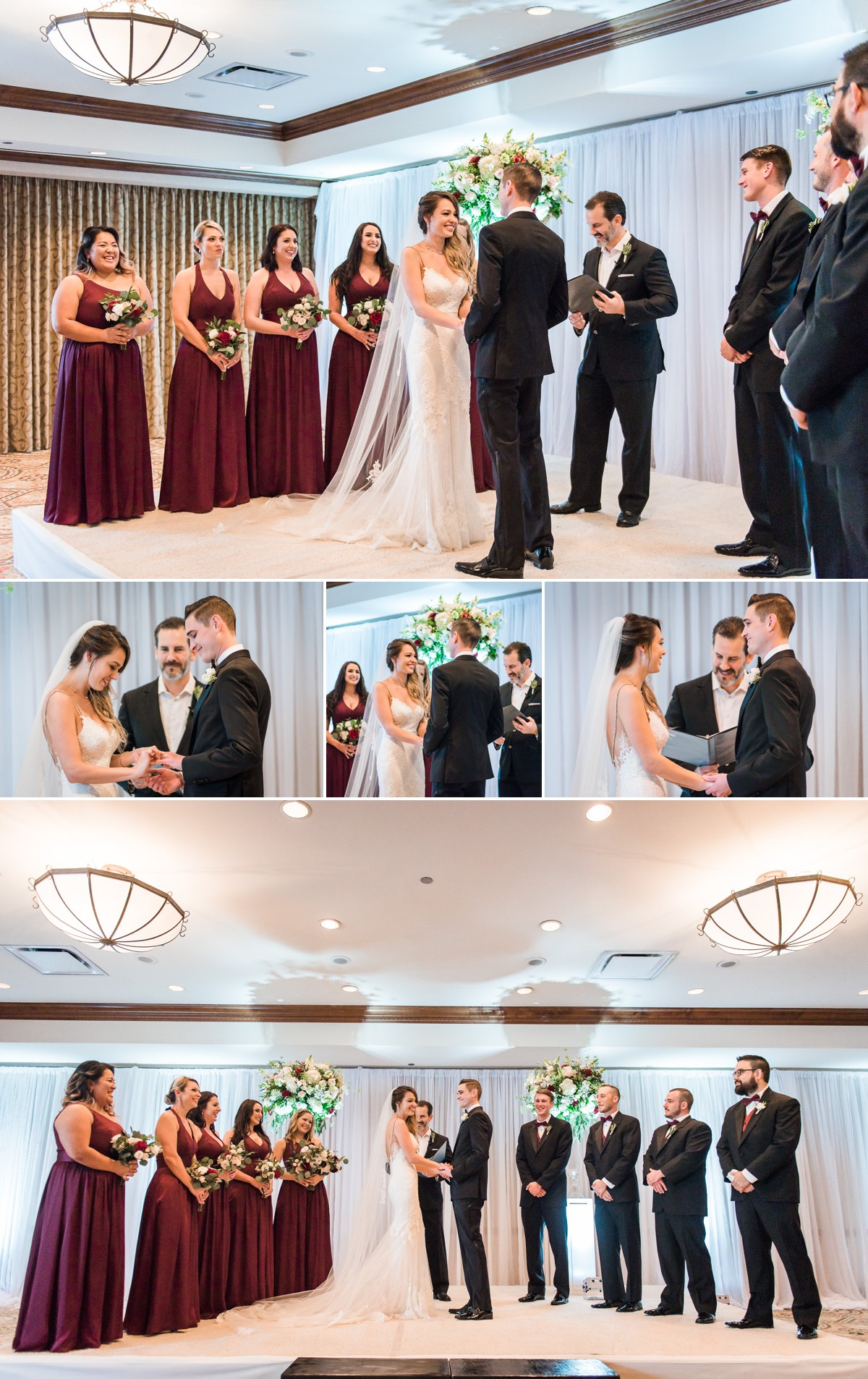 Manor House Wedding at The Houstonian Hotel Ceremony Color