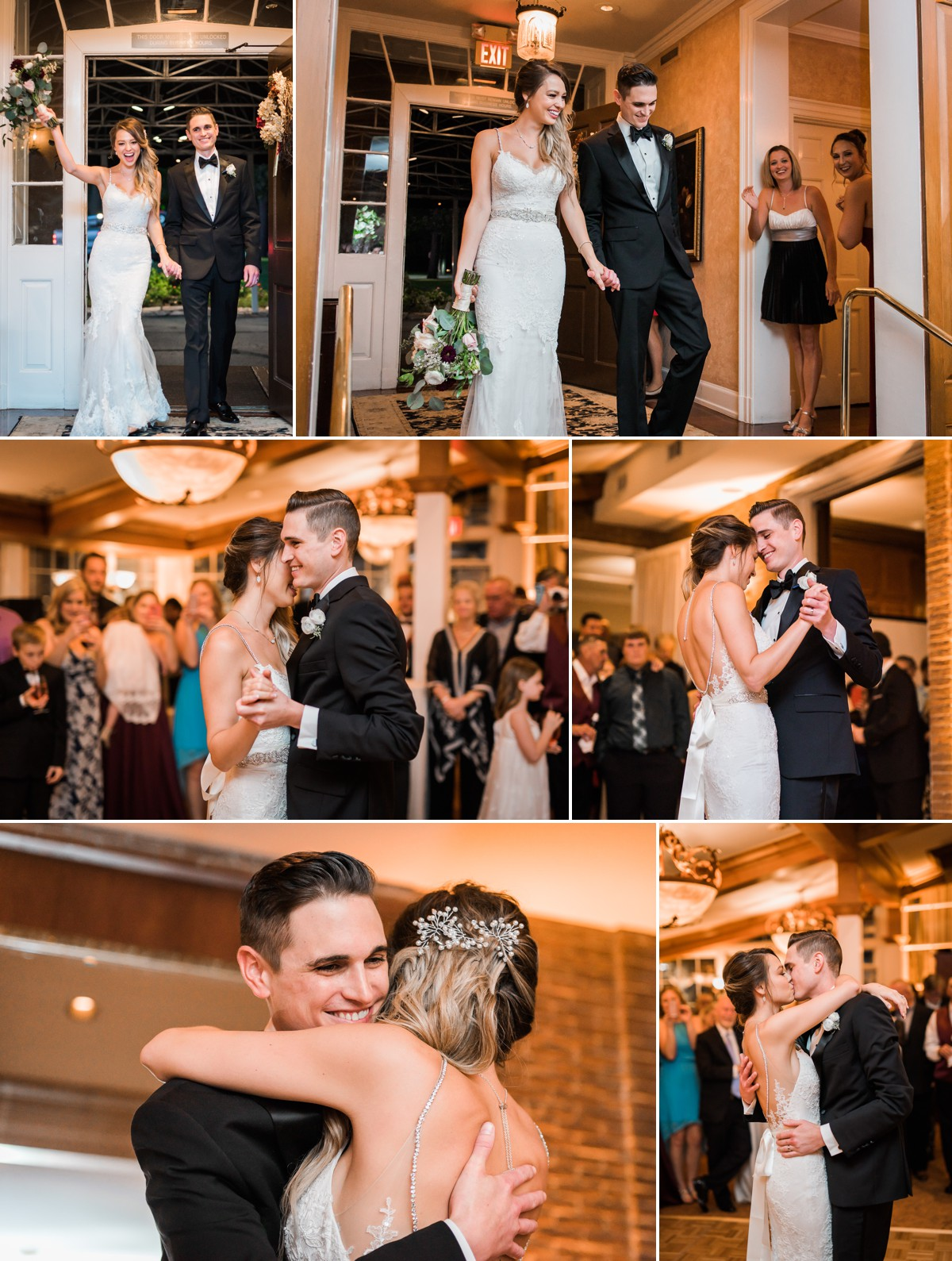 Manor House Wedding at The Houstonian Hotel Reception First Dance Bride and Groom