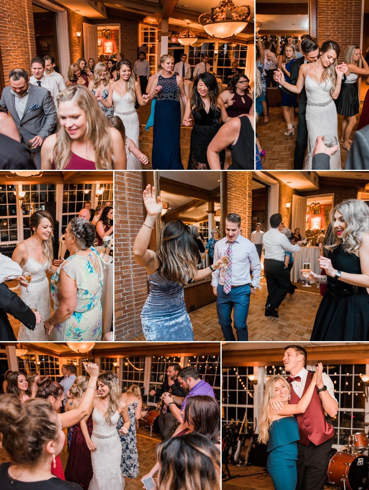 Joan-Brad Houstonian Hotel Wedding Dance Photo by Nate Messarra