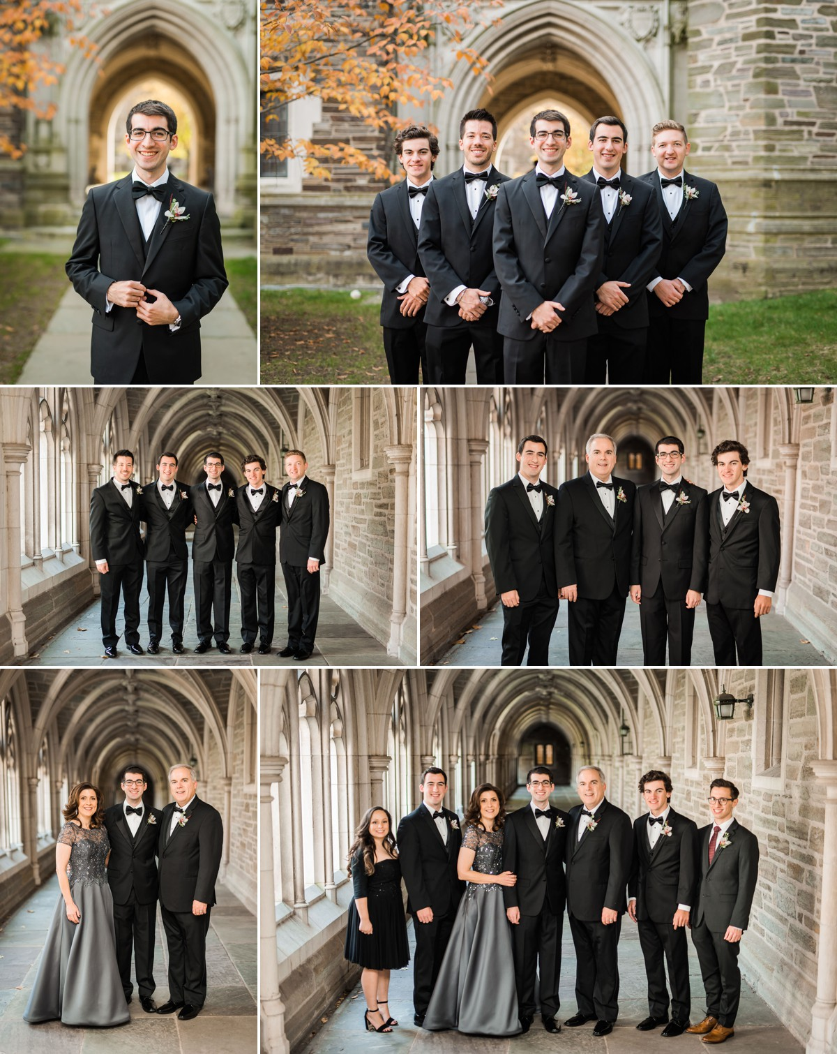 Princeton New Jersey Wedding Groomsmen