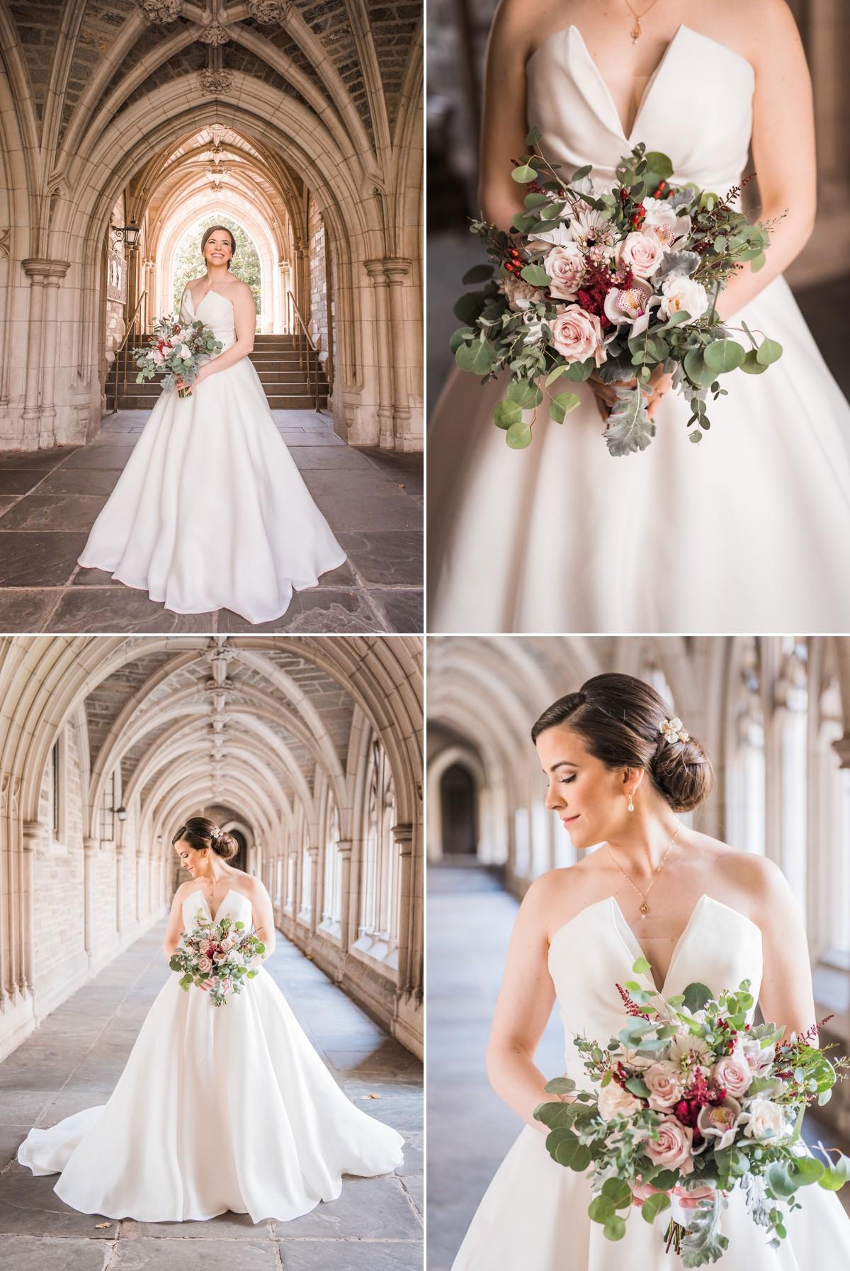 Princeton New Jersey Wedding Bride at Princeton University