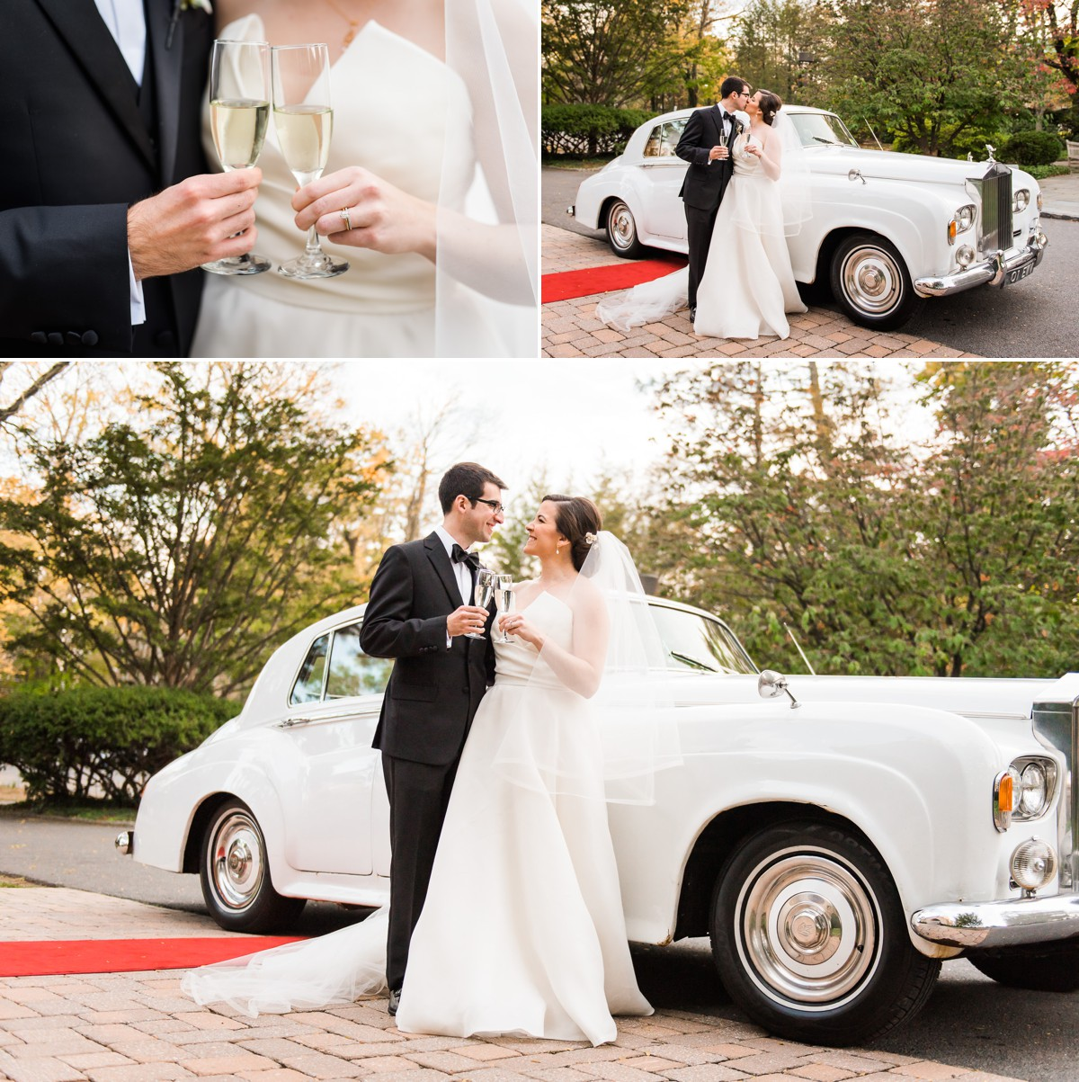 Princeton New Jersey Wedding Bride and Groom Just Married