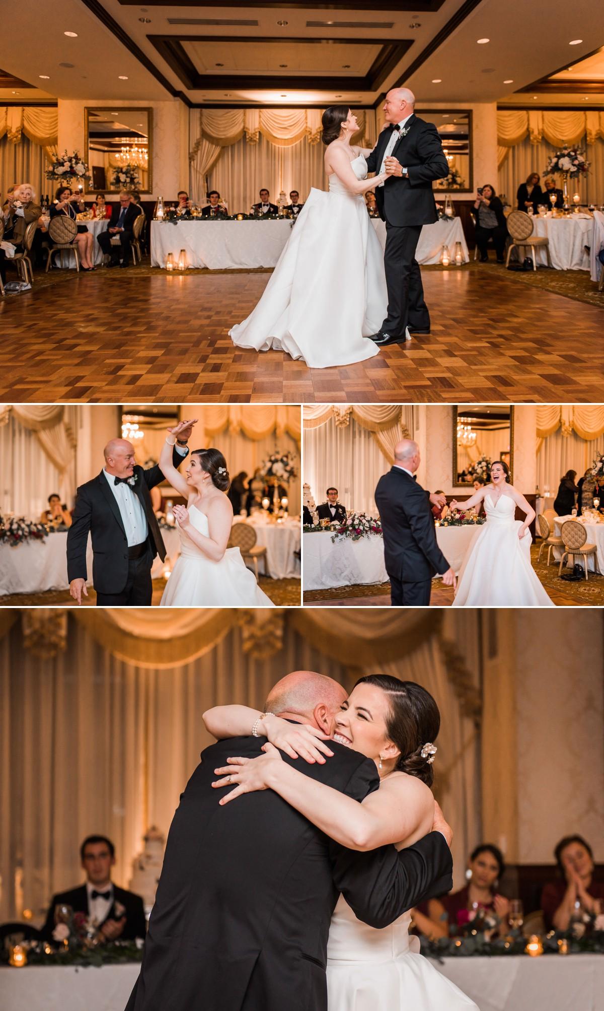 Princeton New Jersey Wedding Nassau Inn Wedding Reception Father Daughter Dance