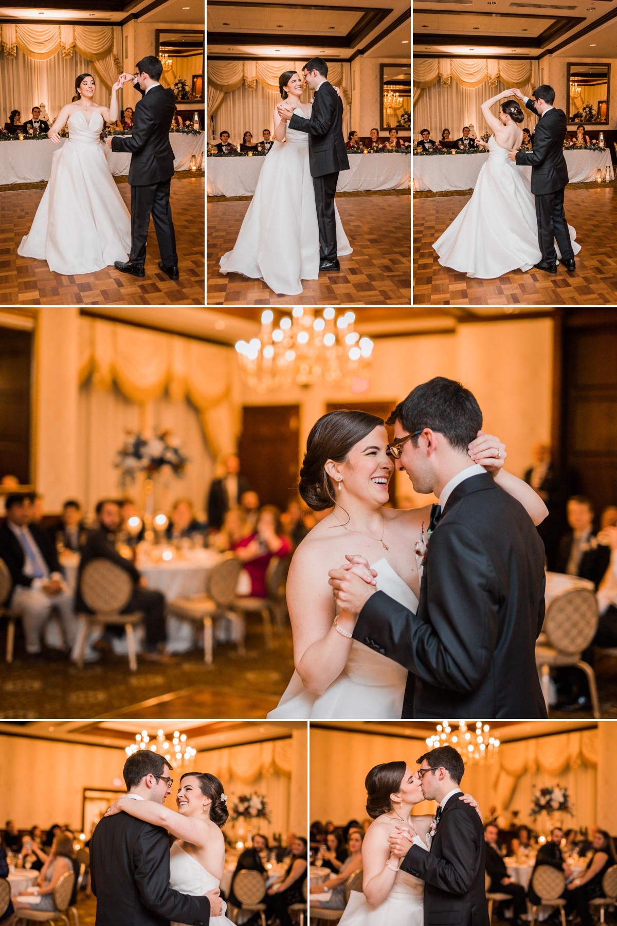 Princeton New Jersey Wedding Nassau Inn Reception