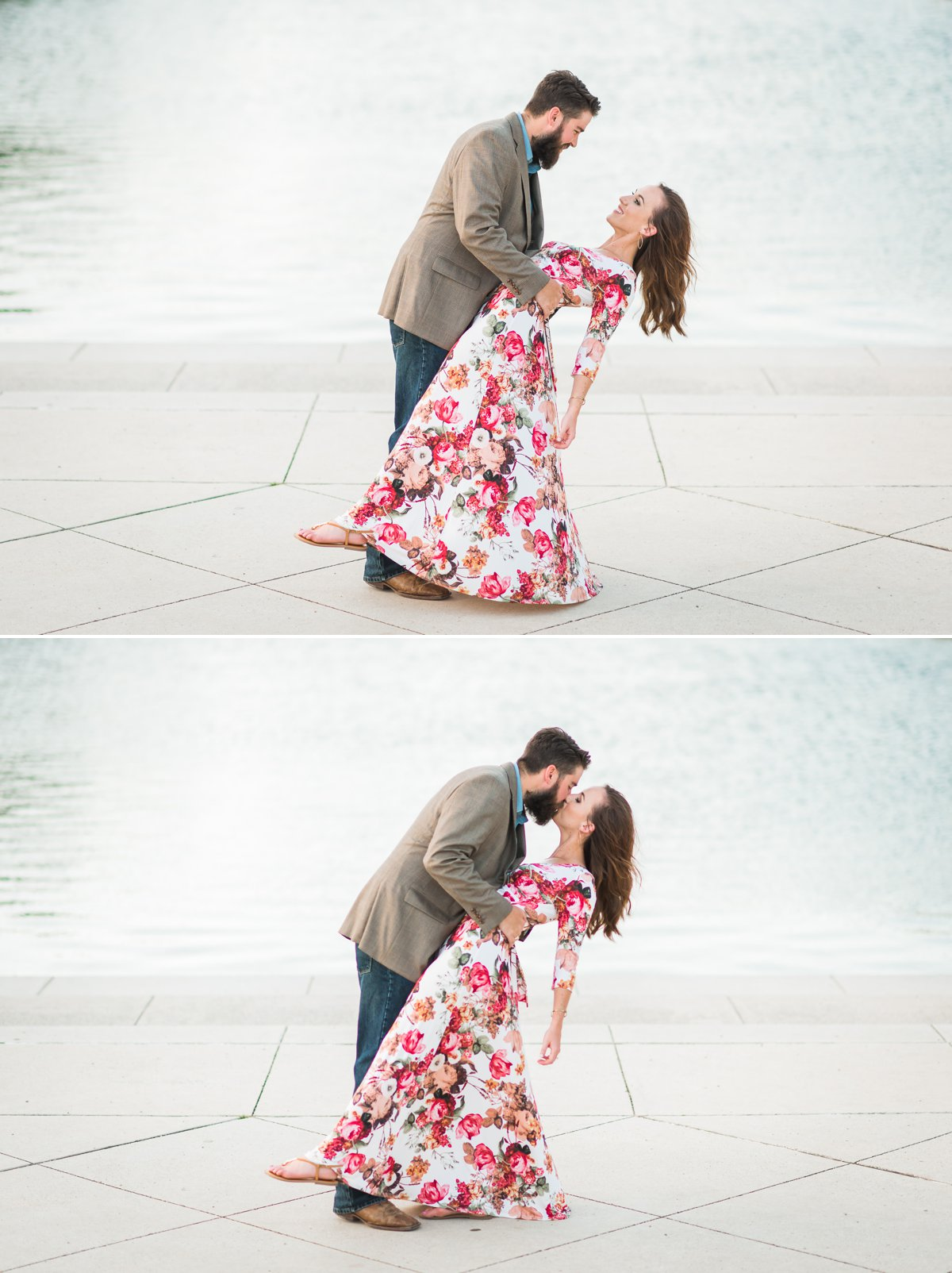 Houston Engagements Photos at Hermann Park