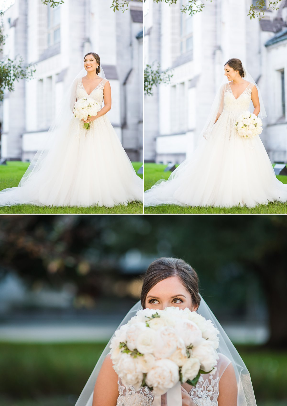 Houston Bridal Photos at St. Lakes United Methodist Church
