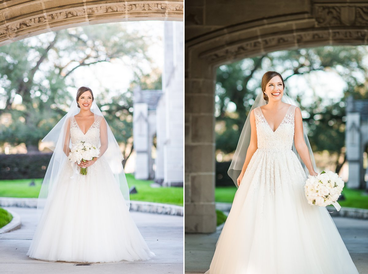 Houston Bridal Portraits by Nate Messarra