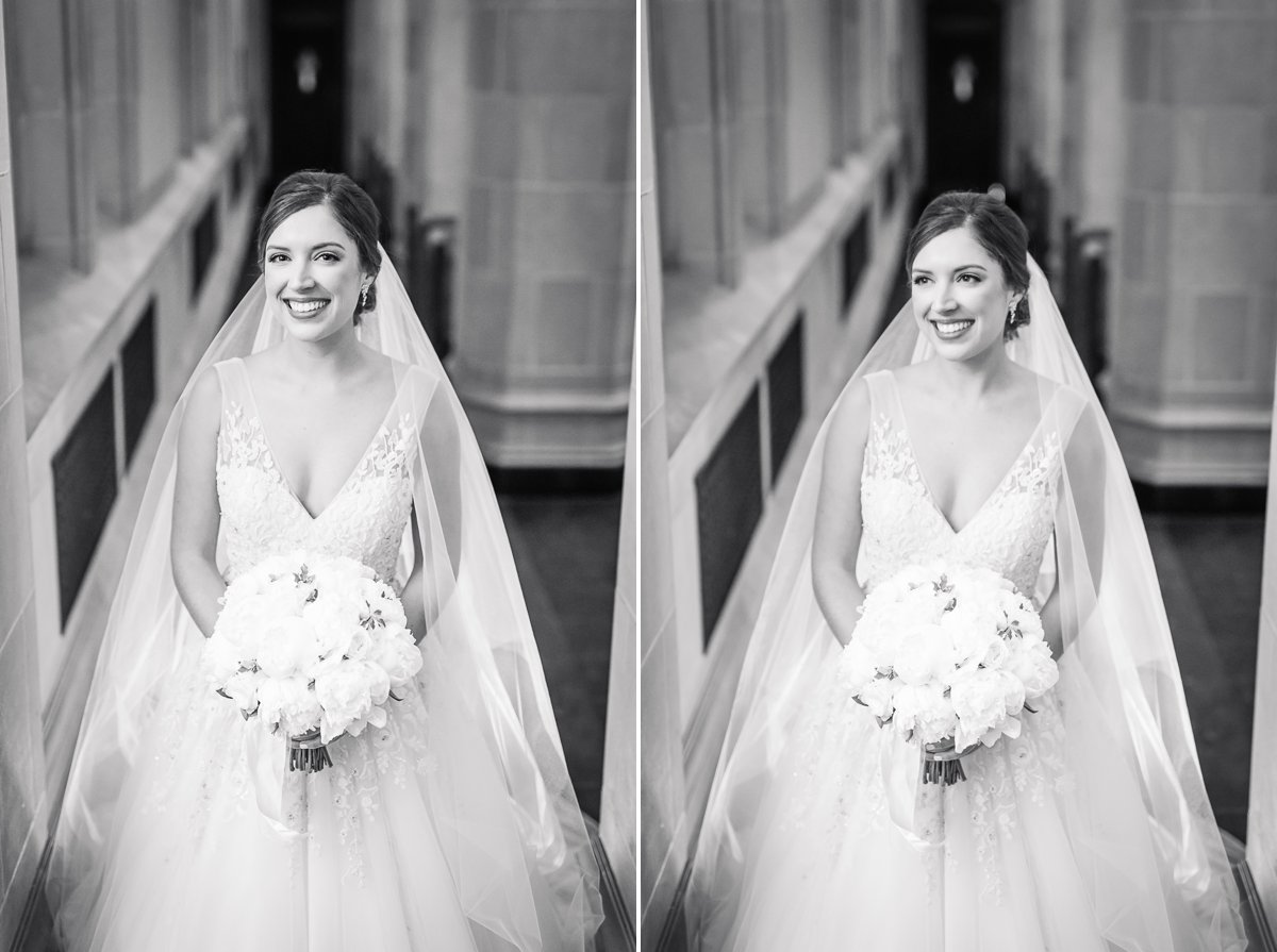 Houston Bridal Portraits at St. Lakes United Methodist Church