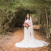 Winter Bridal Portraits by Nate Messarra
