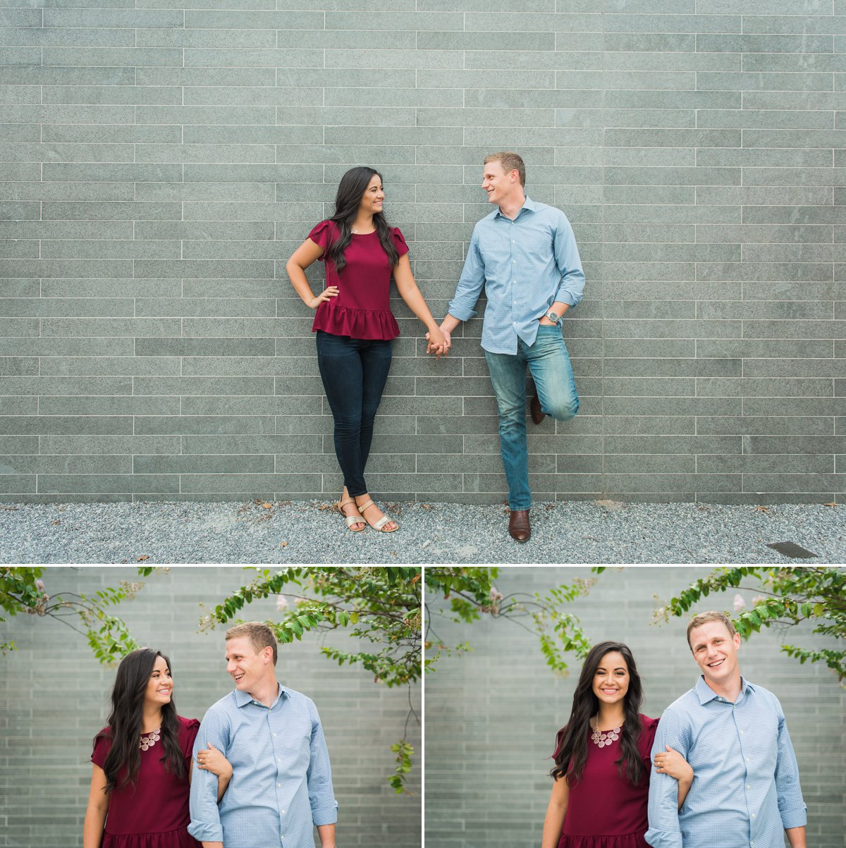 Aubrey-Chris Houston Engagement Photo by Nate Messarra