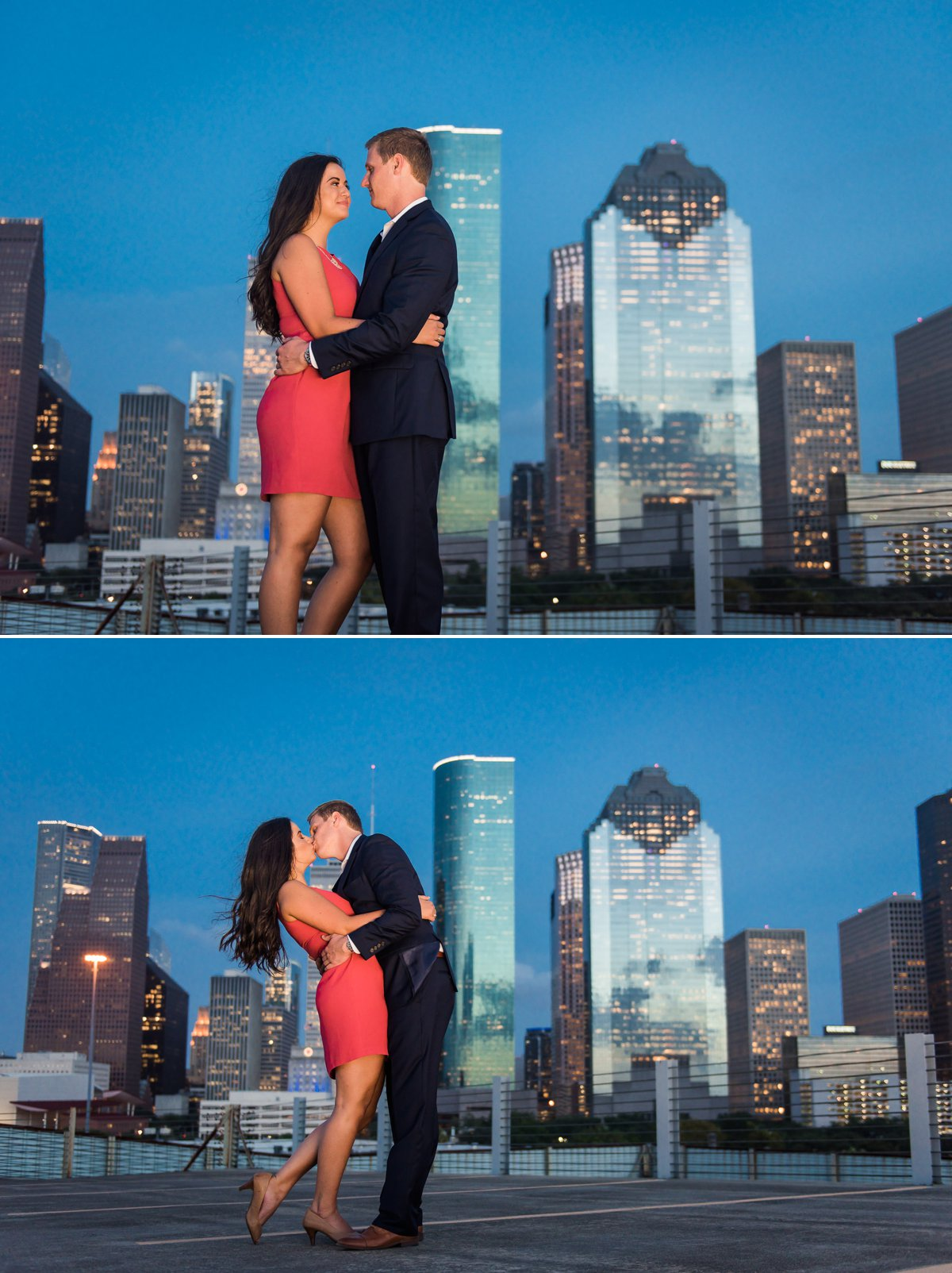 Aubrey-Chris Engagement photo in Houston by Nate Messarra
