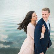 Aubrey & Chris Houston Engagement Photo by Nate Messarra
