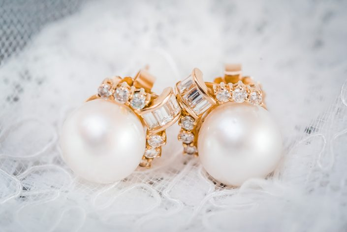 Wedding Earrings by Houston Wedding Photographers Nate Messarra Photography