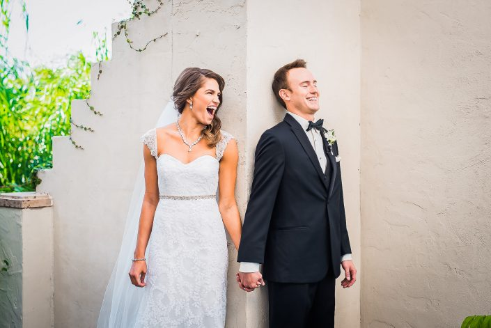 Bell Tower on 34th Wedding by Houston Wedding Photographers Nate Messarra Photography