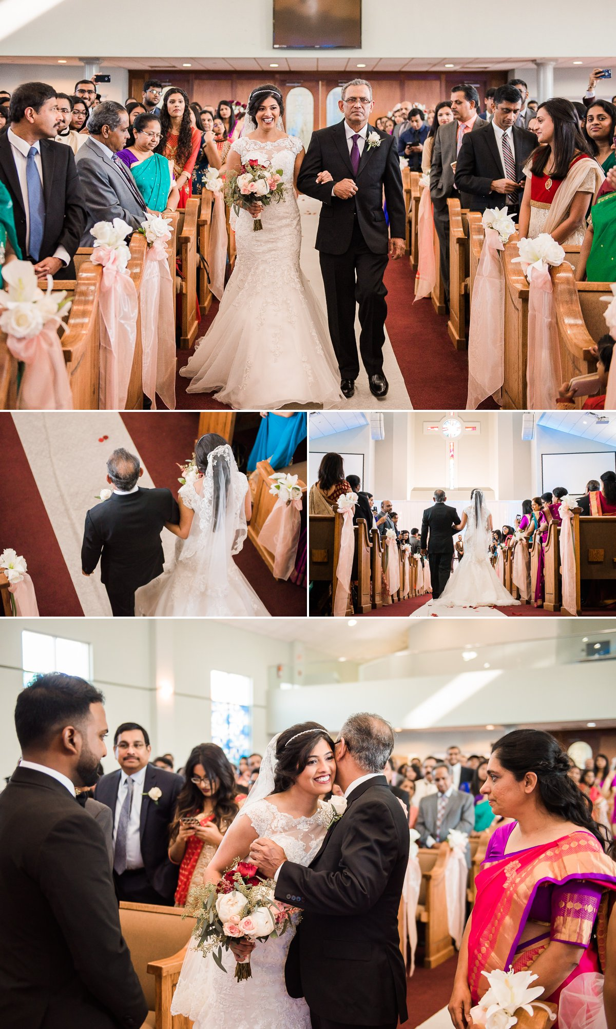 Grace-Allen South Asian Wedding photo by Nate Messarra