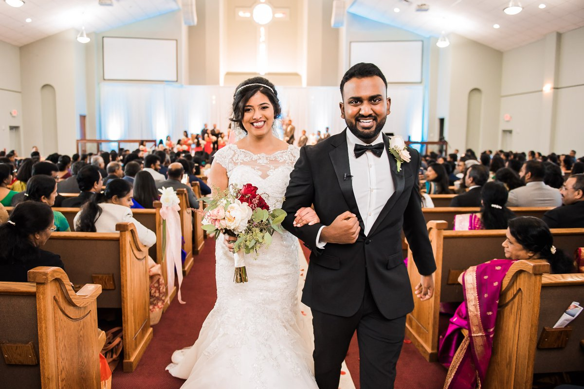 Grace-Allen Indian Wedding Photo by Nate Messarra