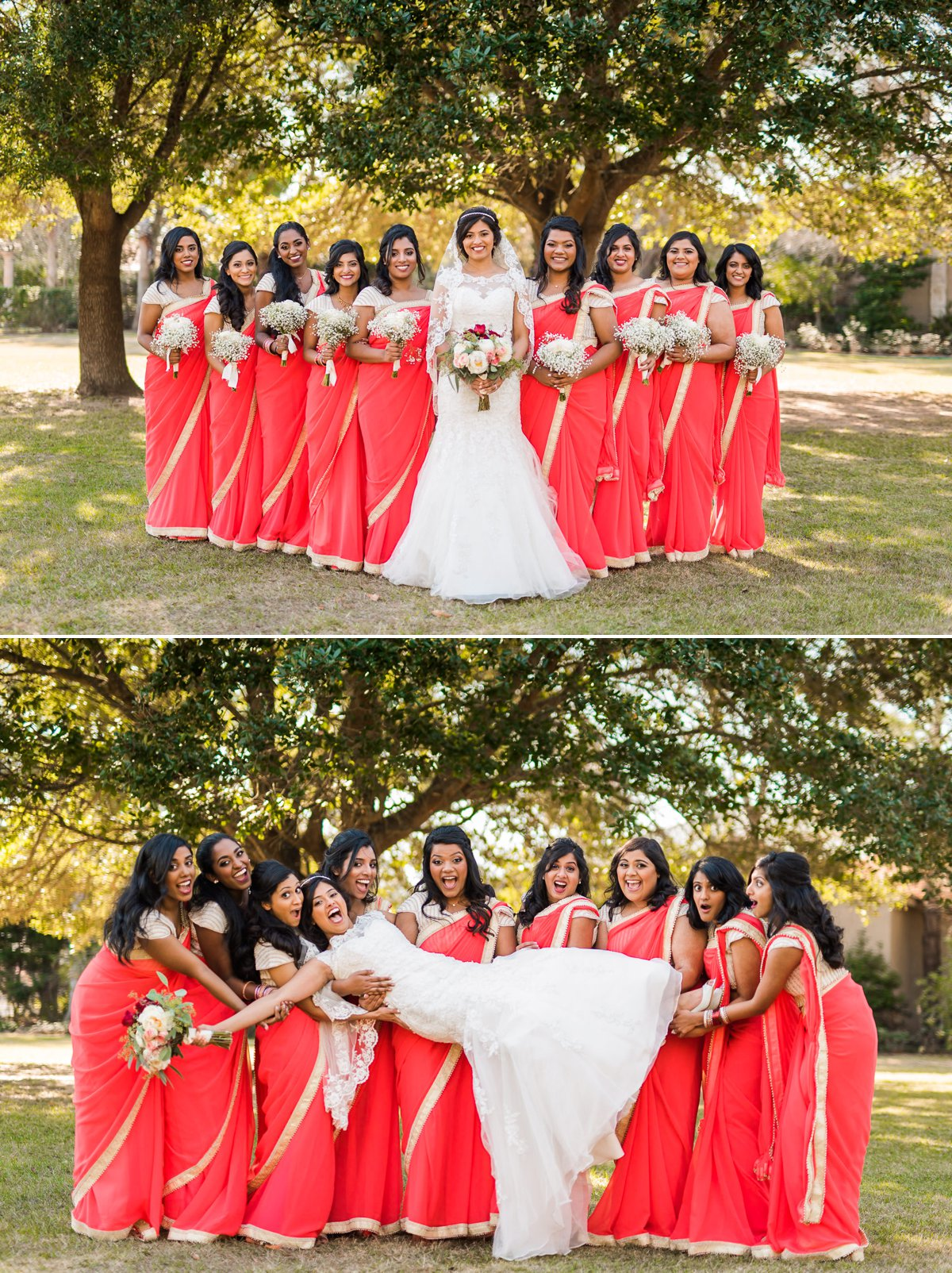 Indian Wedding Bride by Nate Messarra