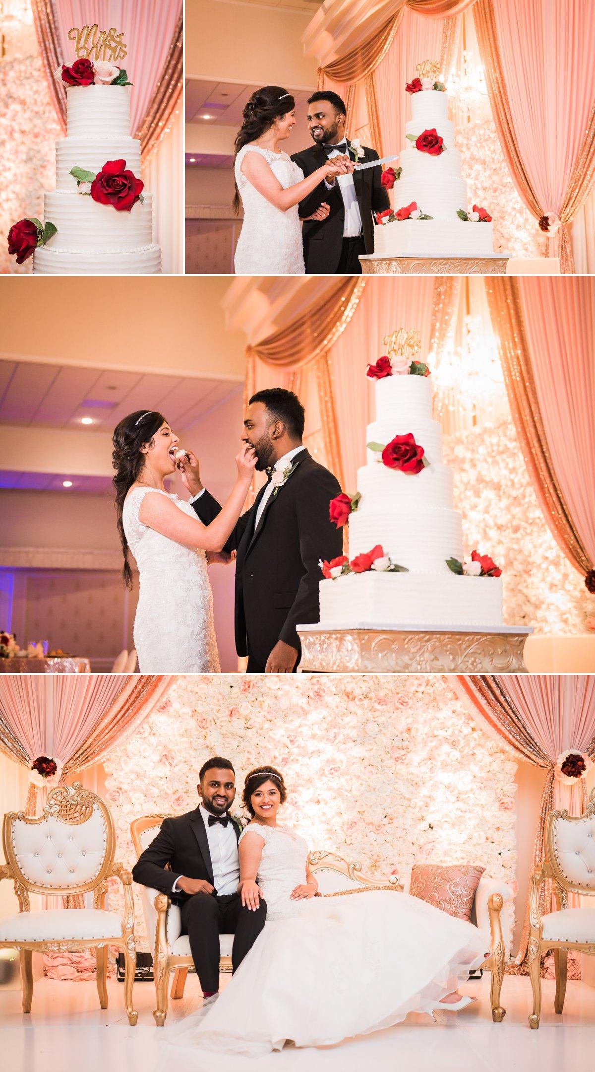 Grace-Allen Wedding Cake Photos by Nate Messarra