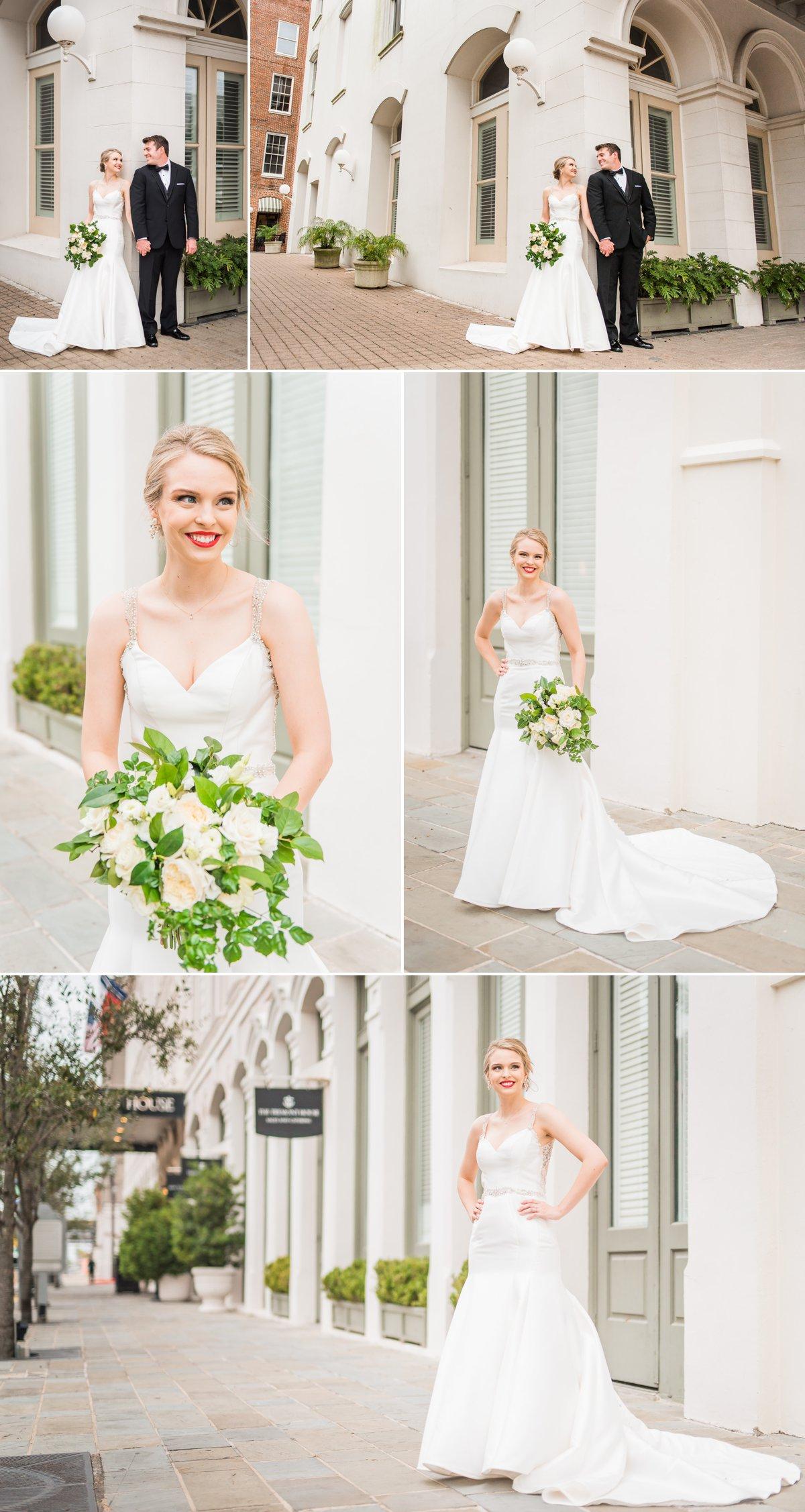 Tremont House Wedding Bride