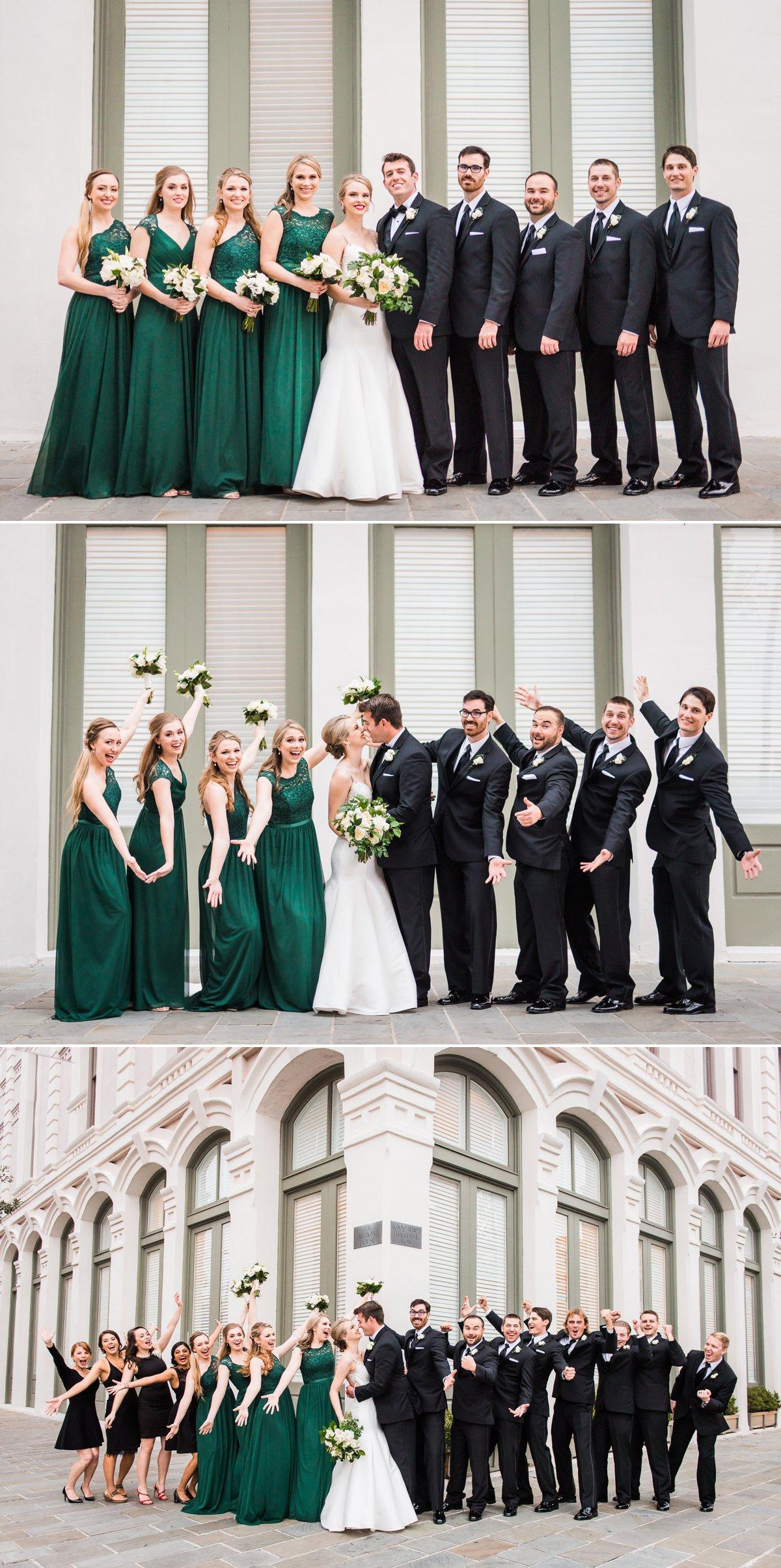 Tremont House Wedding Galveston Wedding Party
