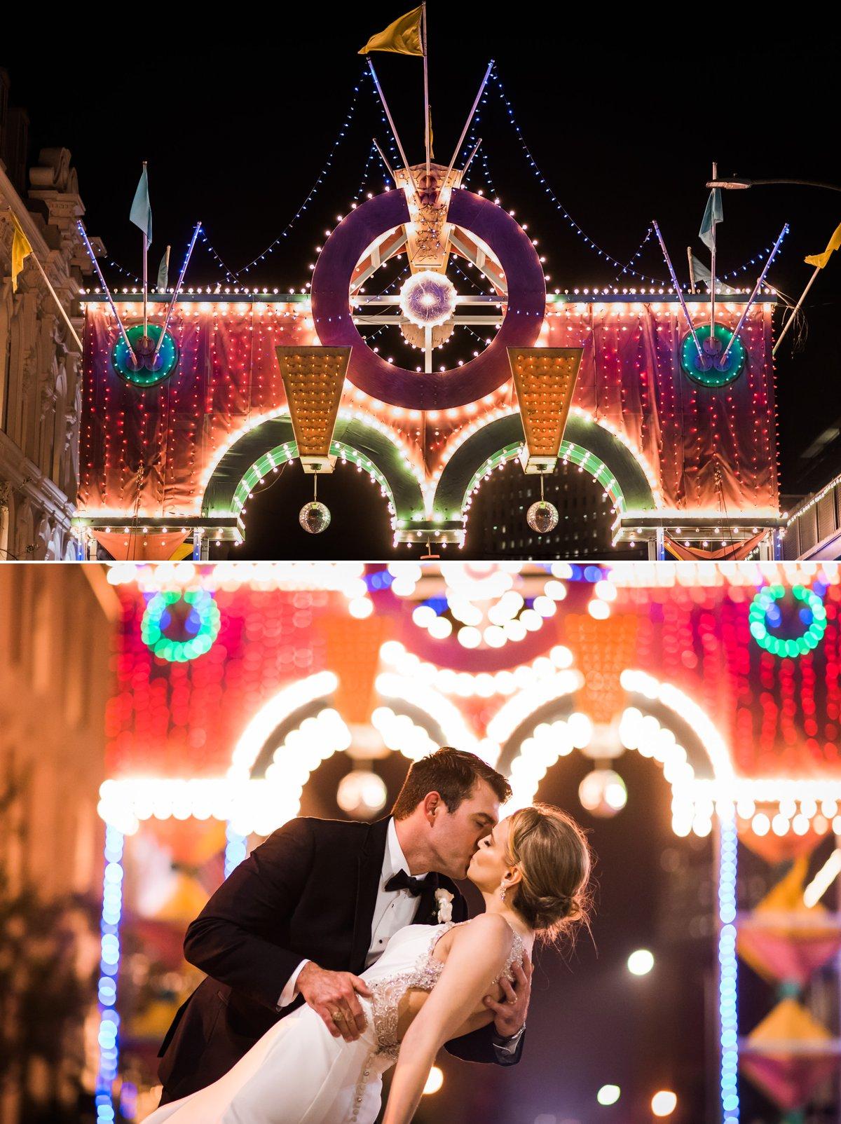 Beautiful Wedding Night Photos of Lauren & Bryan