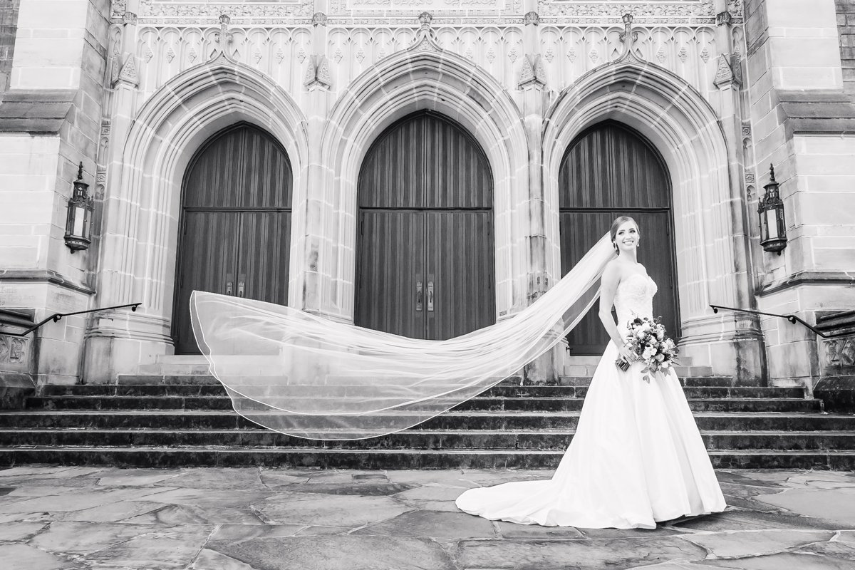 The Astorian and St. Paul's UMC Bridal Portrait