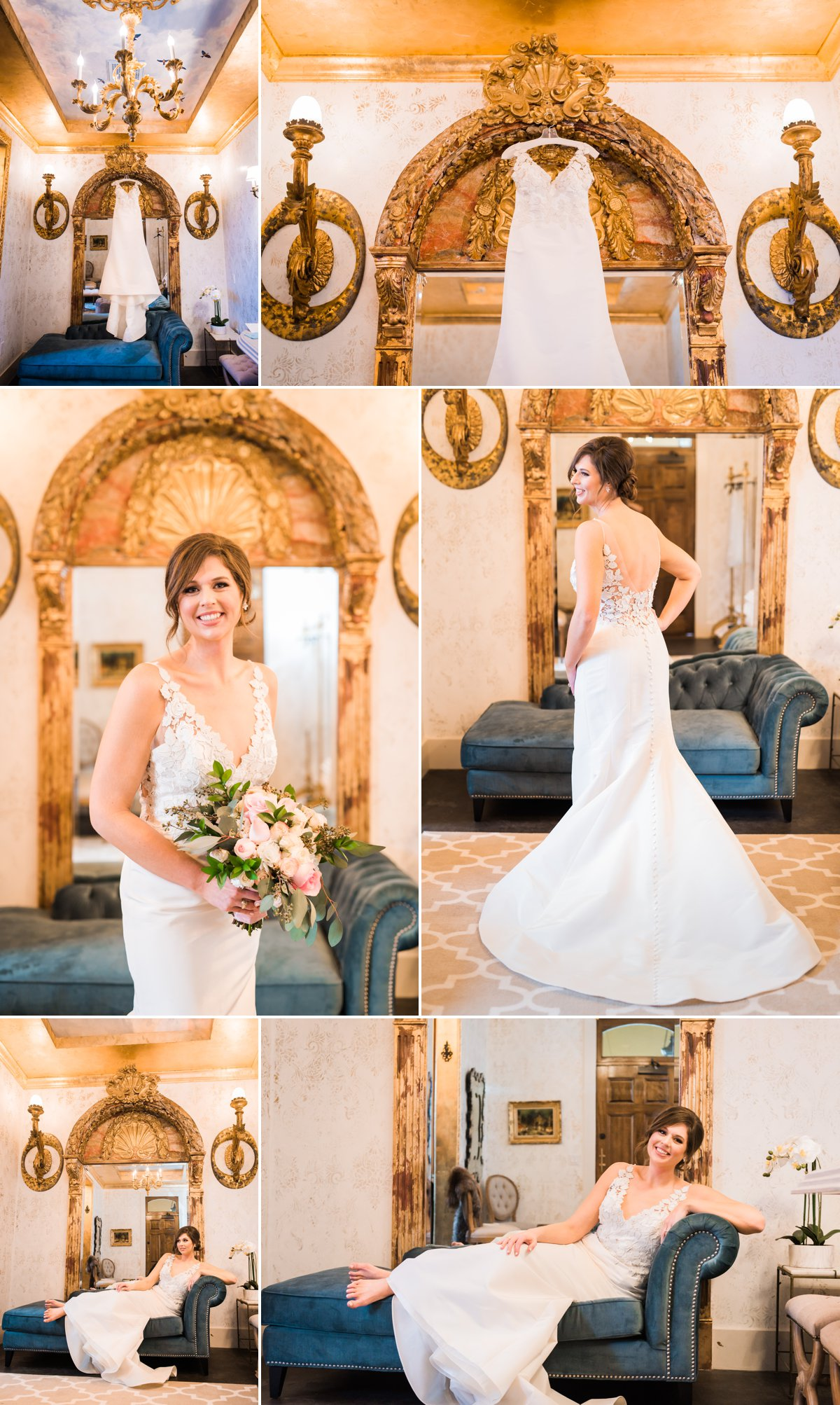 The Bryan Museum Wedding Bridal Suite & Bride