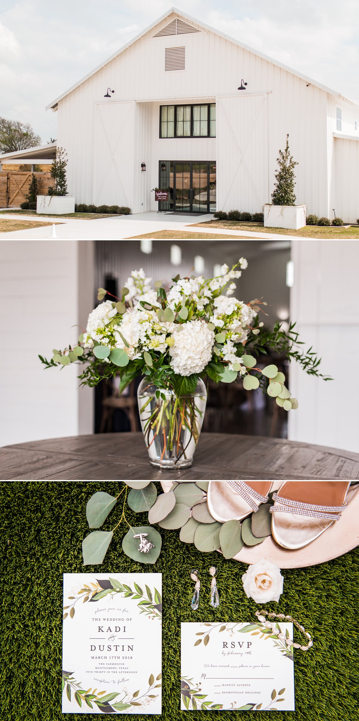 The Farmhouse Wedding Venue Wedding Details