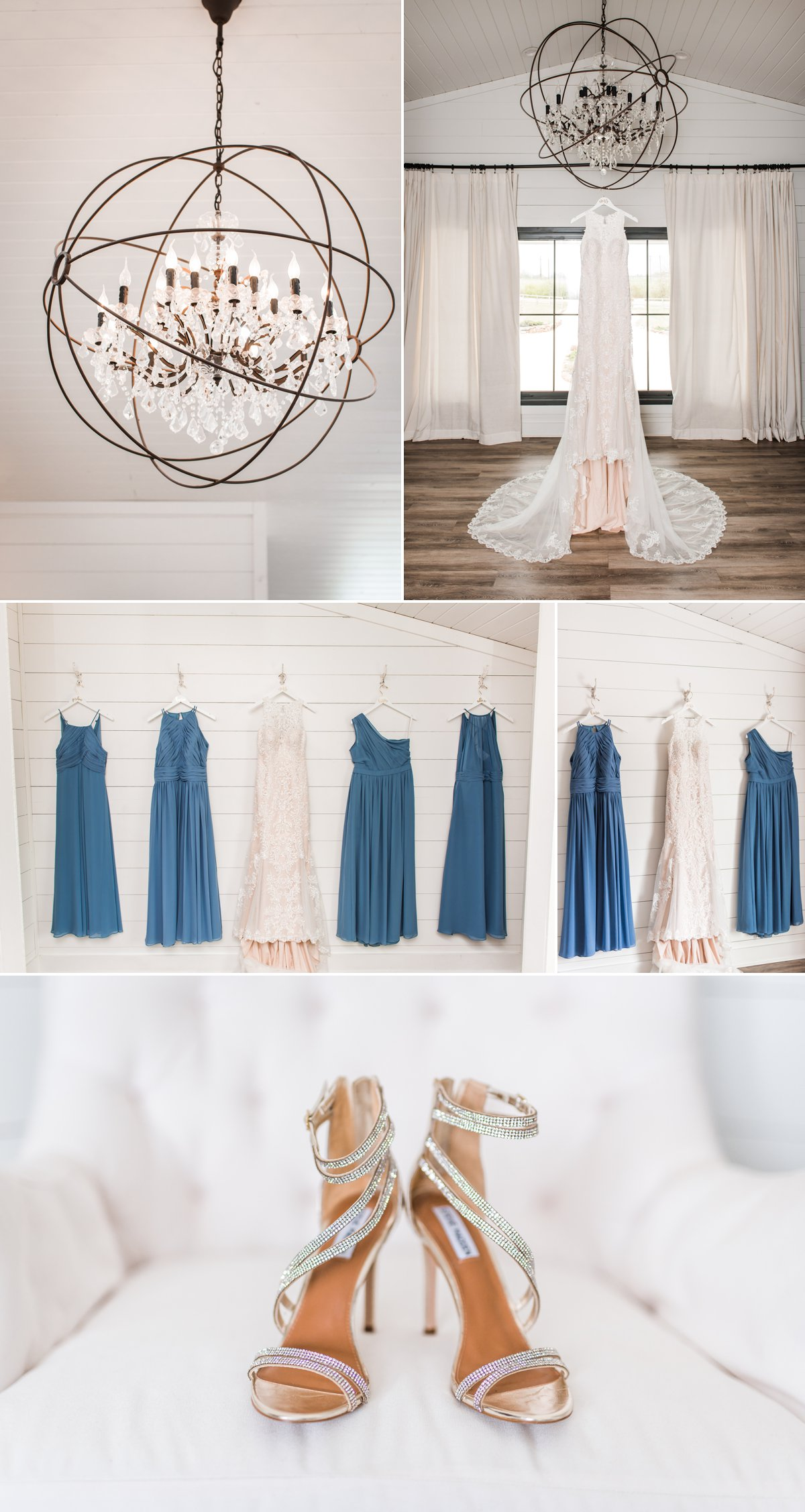 The Farmhouse Wedding Venue Wedding Dress Details