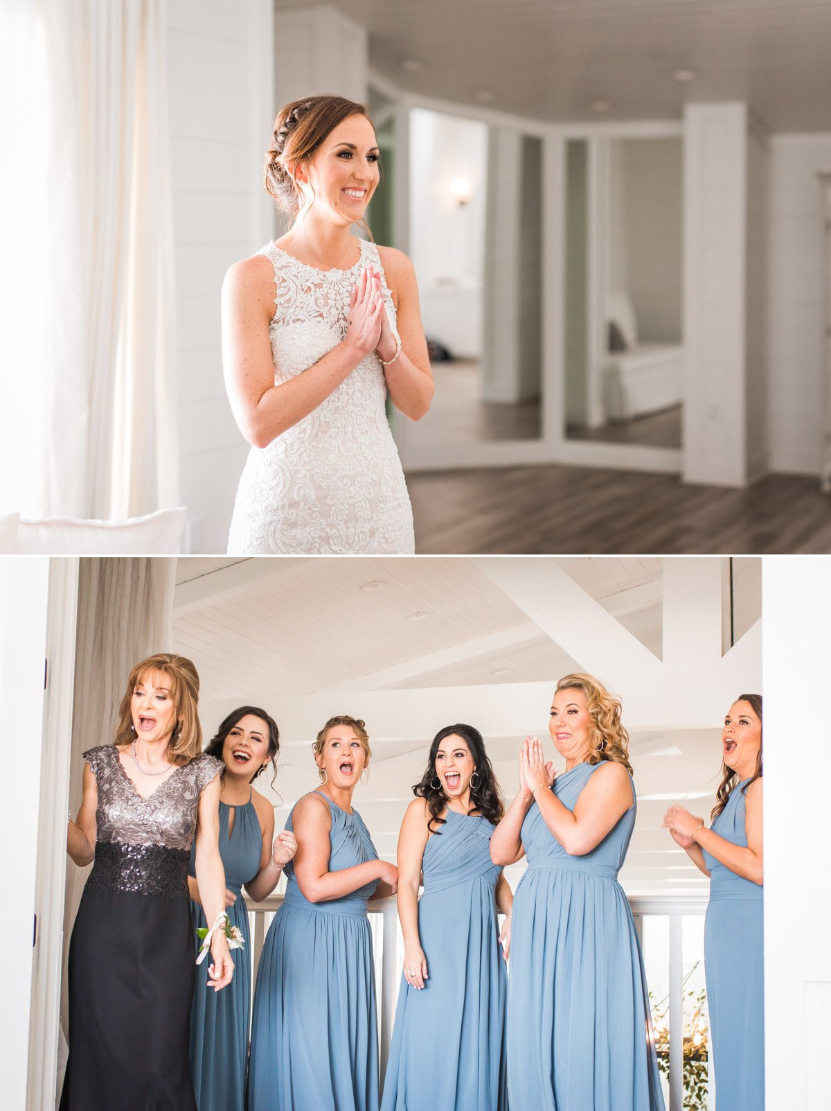 Bridesmaid reveal at The Farmhouse Wedding Venue