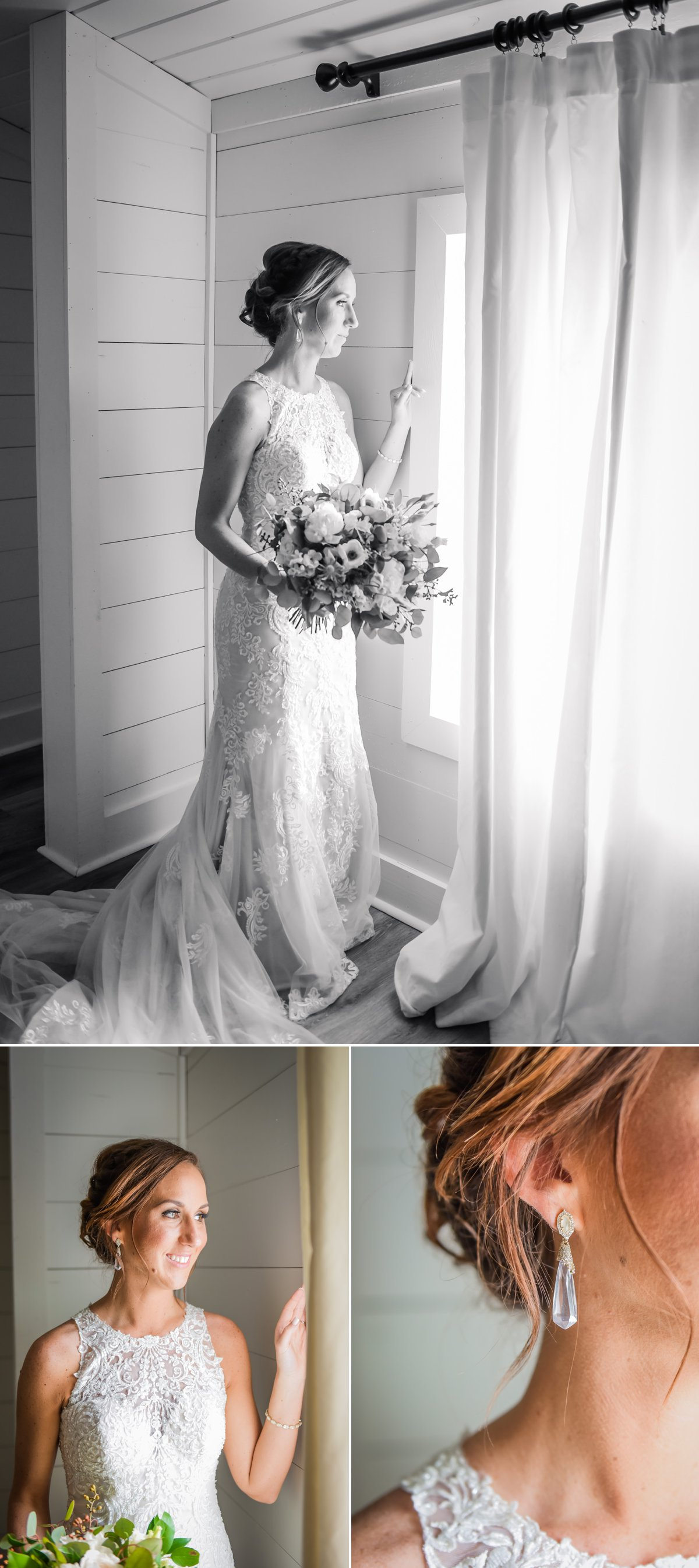 The Farmhouse Wedding Venue Bride by Nate Messarra Photography