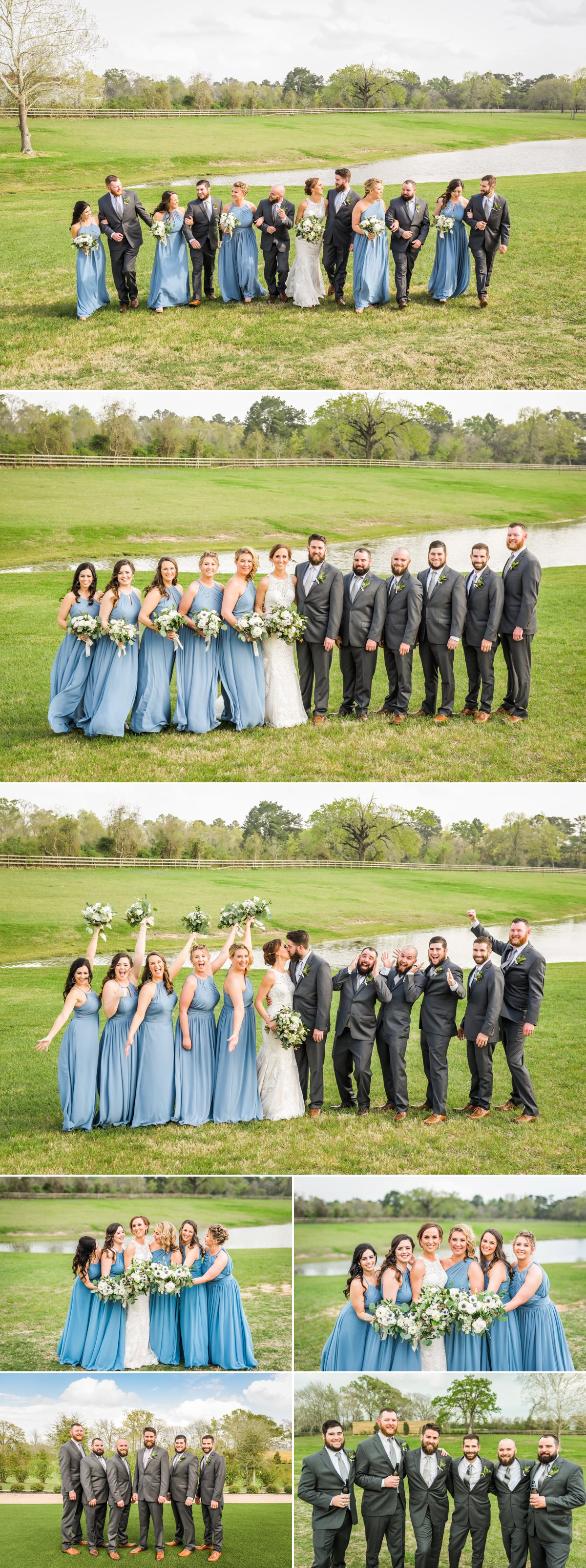 The Farmhouse Wedding Venue Wedding Party by Nate Messarra Photography