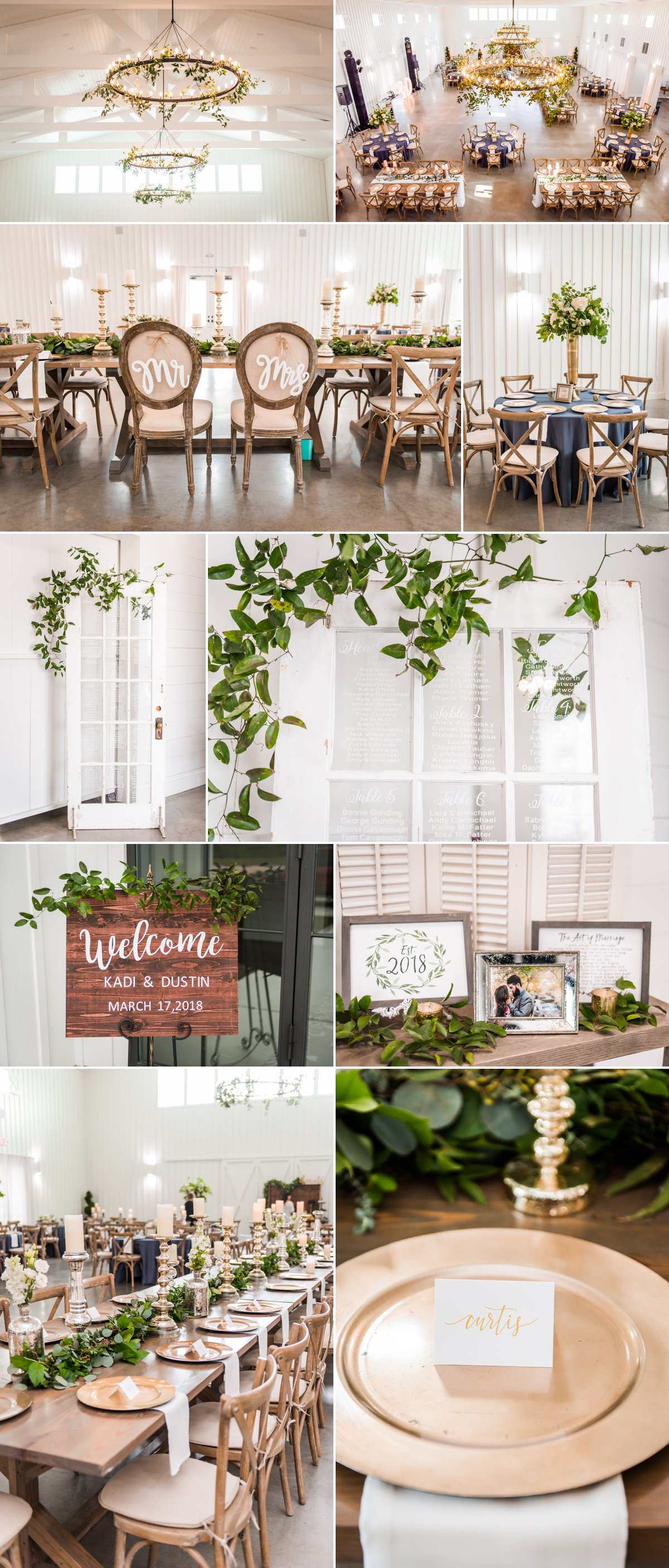 The Farmhouse Wedding Venue Wedding Decorations