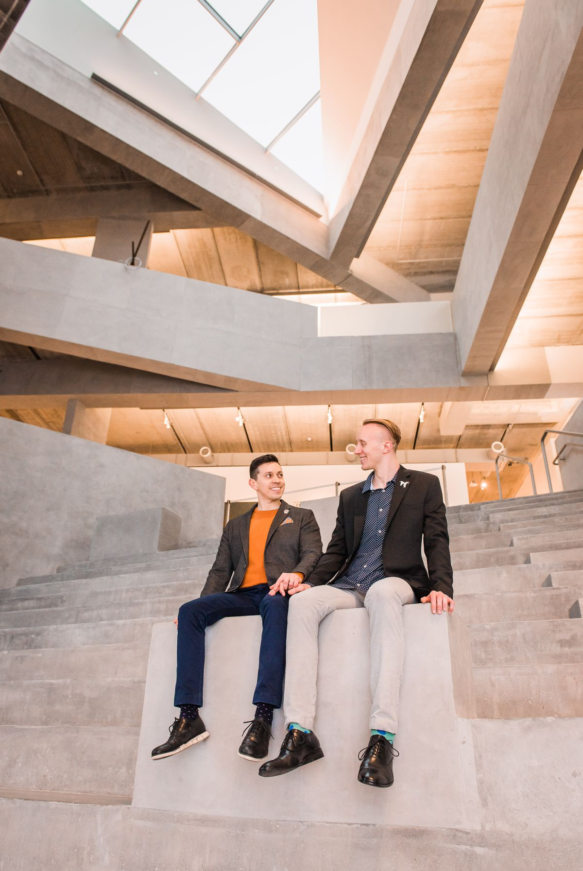 Museum of Fine Arts Houston Engagement Portraits