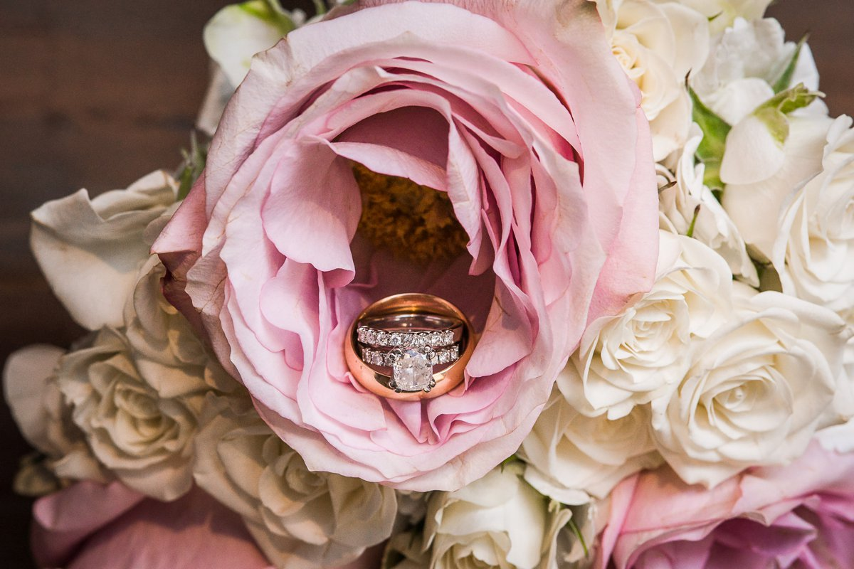Houston Club Wedding Details and Rings