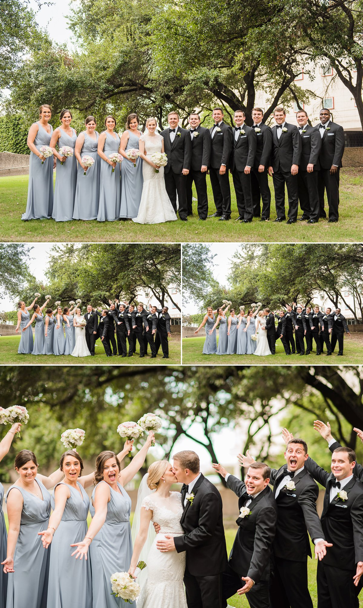 The Houston Club Wedding Party