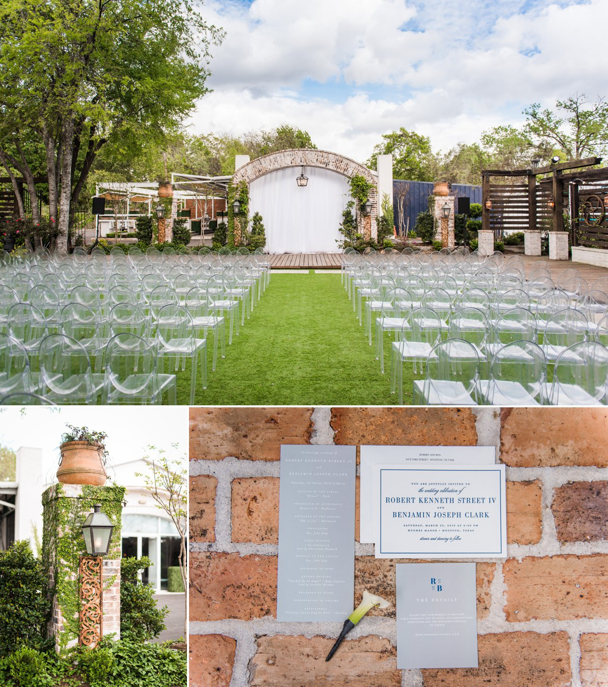 Hughes Manor Wedding Details and Ceremony Space