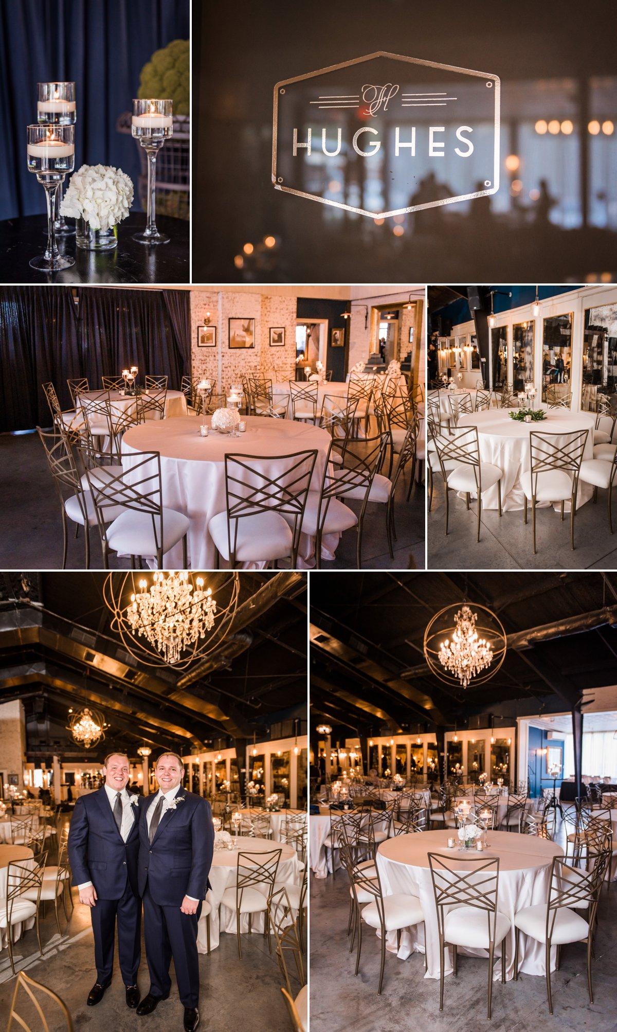 Hughes Manor Wedding Details and Decor