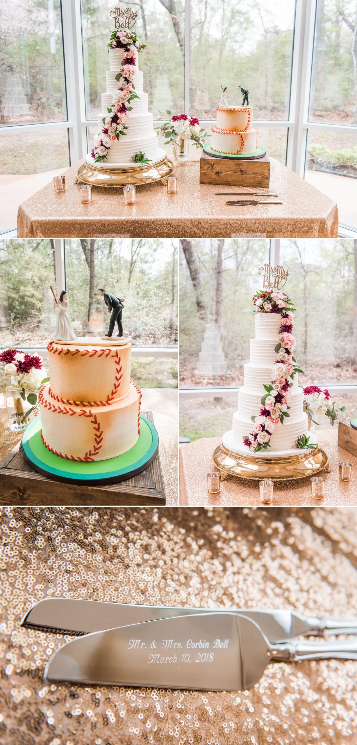 Ashton Gardens North Wedding Cake