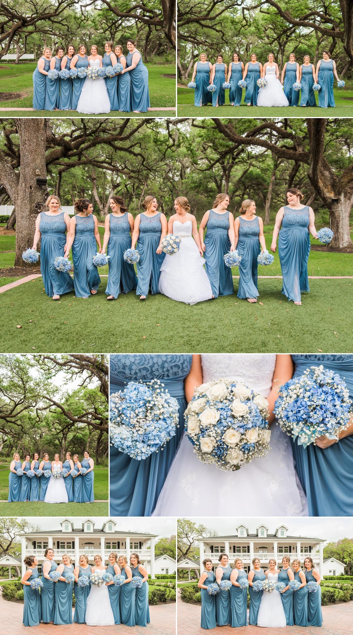 Magnolia Manor Wedding Bride and Bridesmaids