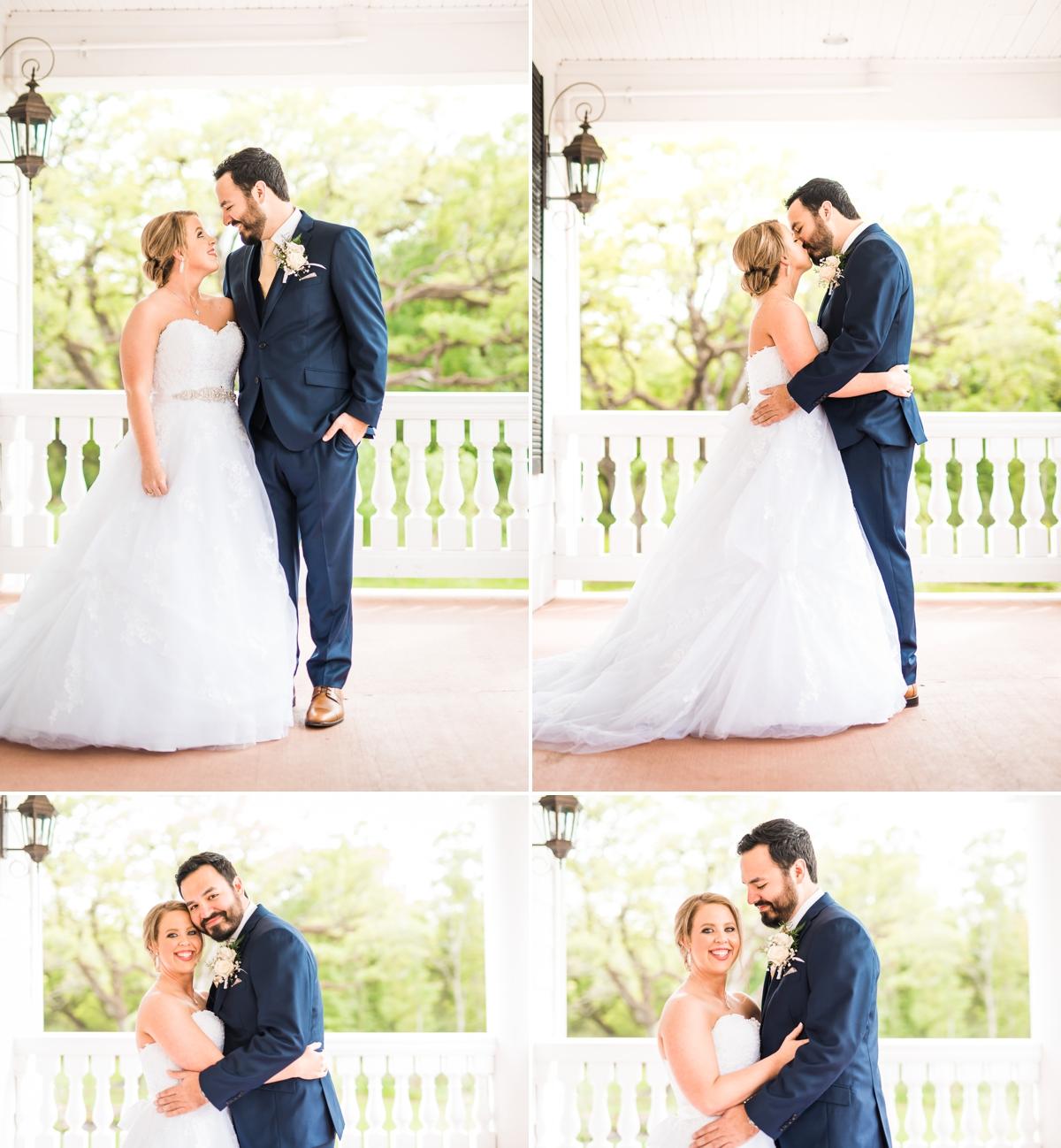Magnolia Manor Wedding Bride and Groom Portraits