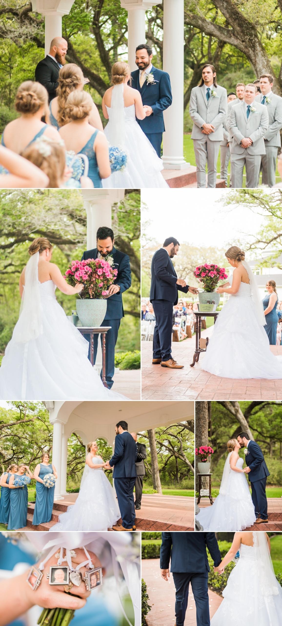 Magnolia manor wedding ceremony