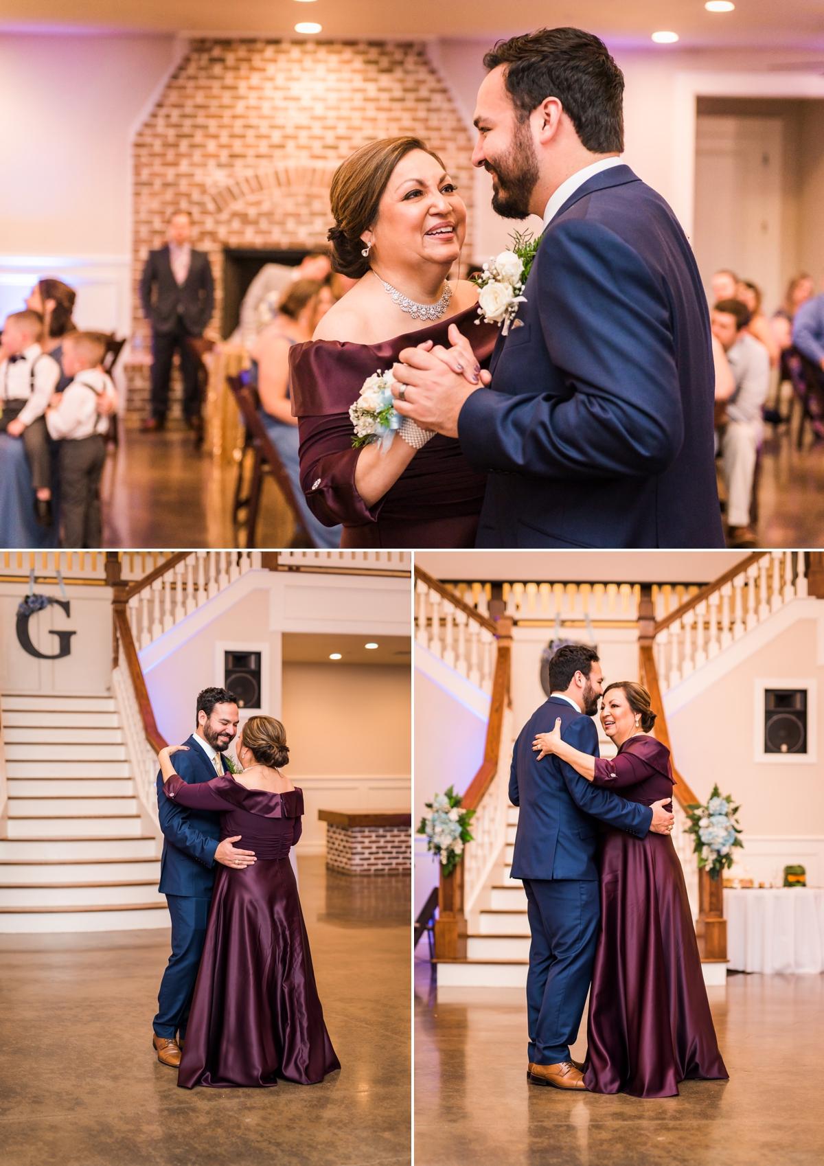 Magnolia Manor Wedding Reception Mother - Groom Dance