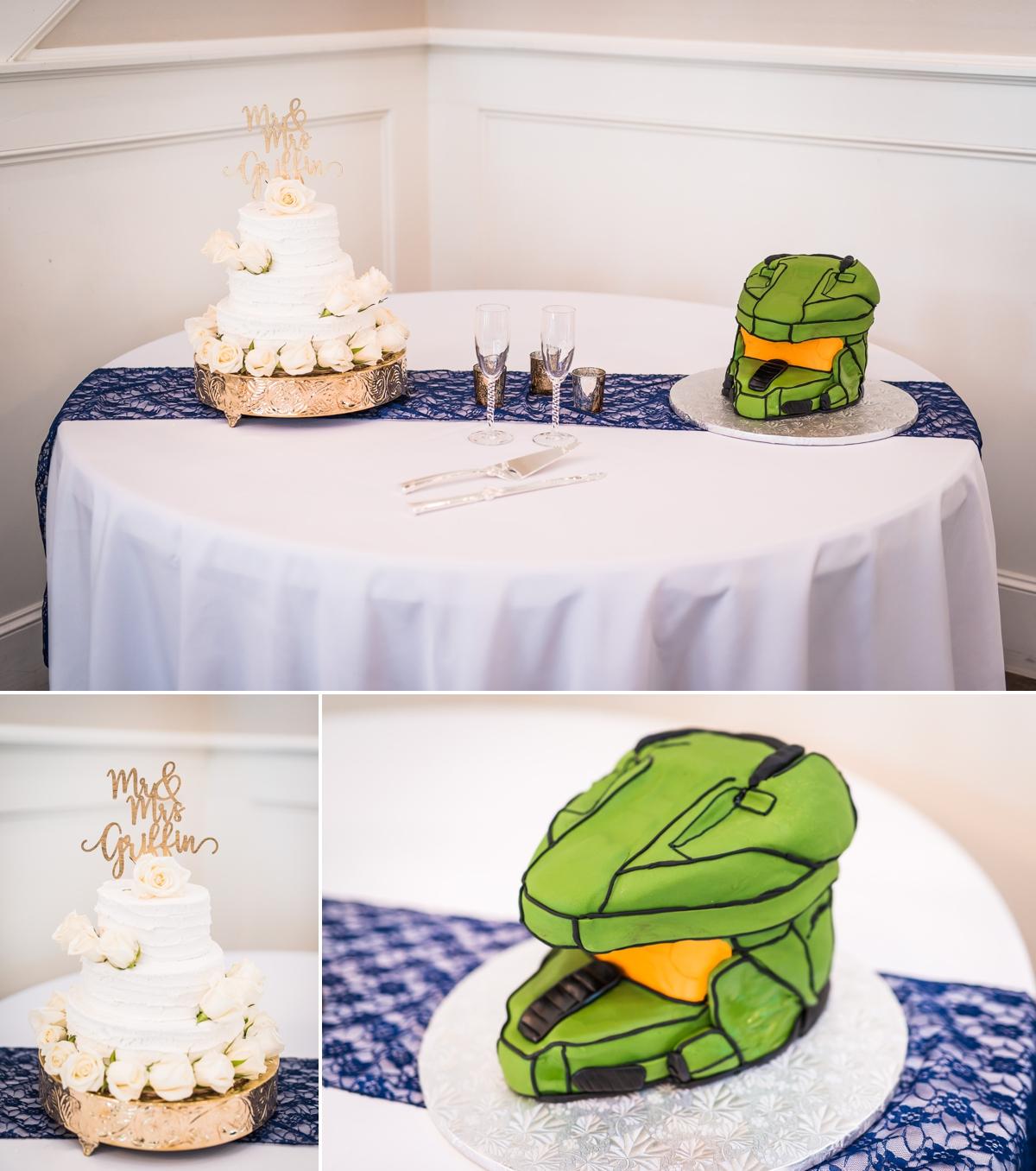 Magnolia Manor Wedding Reception Wedding Cakes