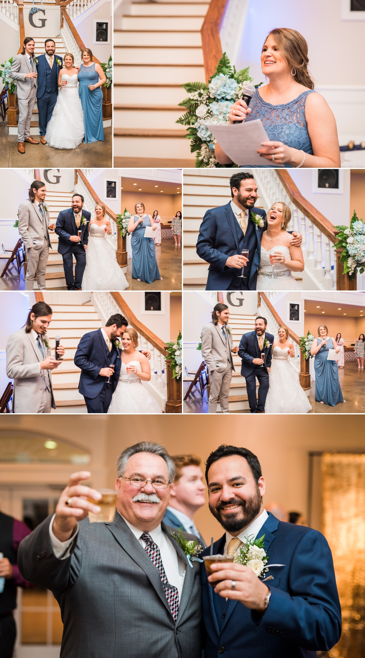 Magnolia Manor Wedding Reception Toasts